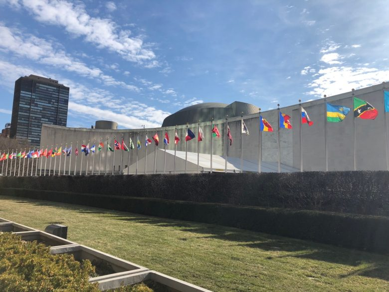 Big Ocean Women at the United Nations 2018